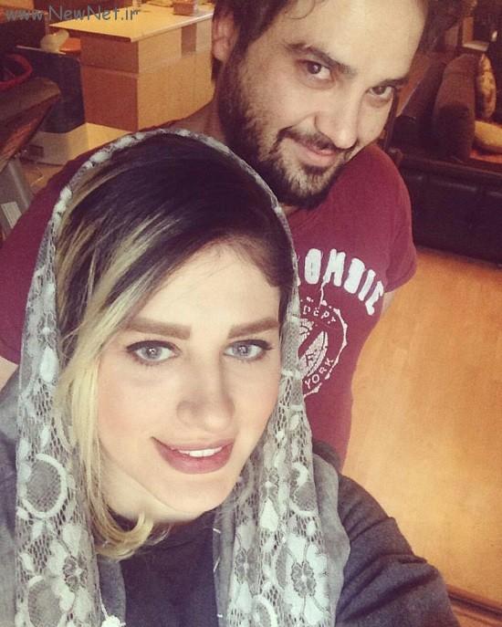 اینستاگرام مهدی سلوکی و همسرش سلفی