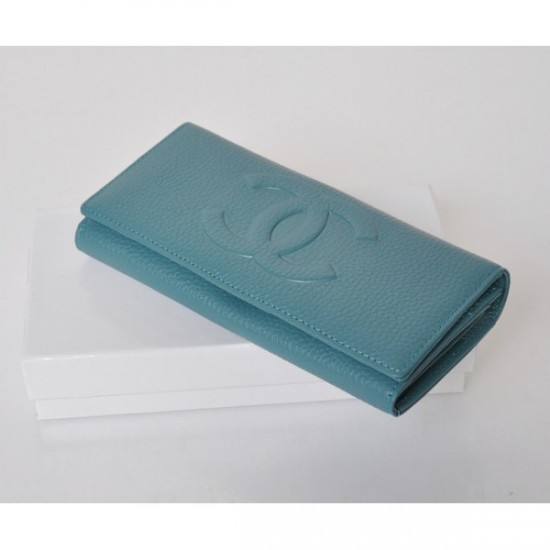 chanel classic blue calfskin wallets-Best of 2012 Women Wallet with a Modern Design and Good Quality By Chanel