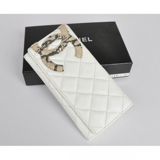white chanel wallet-Best of 2012 Women Wallet with a Modern Design and Good Quality By Chanel