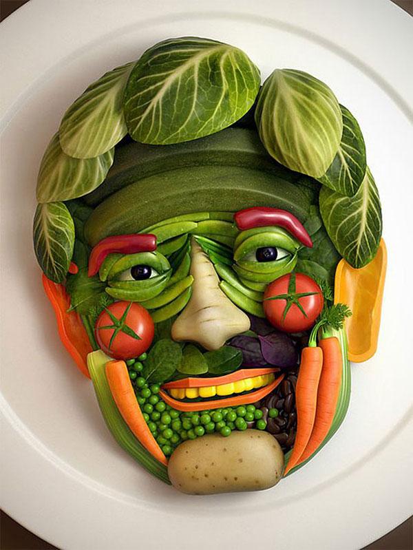 مدل عکس تزیین غذا جدید