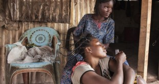 عکس های قابل تامل از آوارگان بانگی