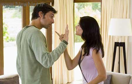 واکنش های دعوا های زن و شوهری
