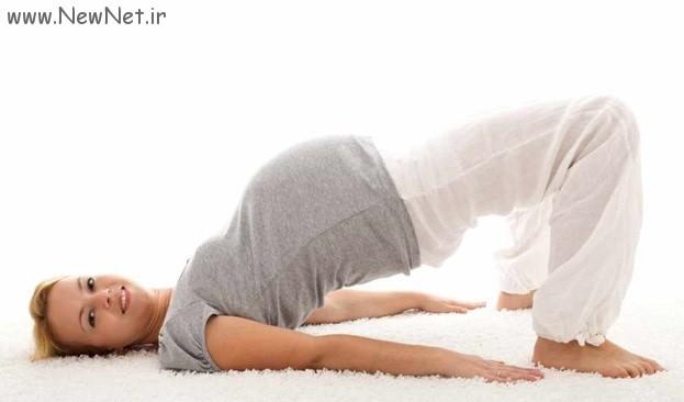 روش ورزش کردن خانم های باردار
