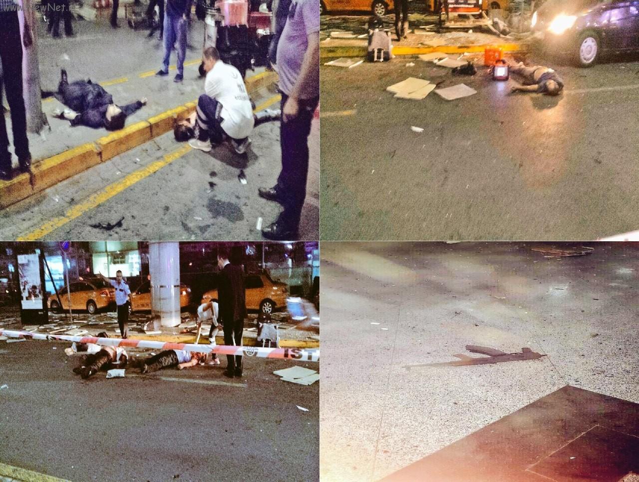 انفجار فرودگاه آتاتورک استانبول به همراه فیلم لحظه انفجار